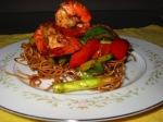 Seafood Noodle Basket