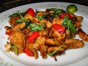 Chicken Basil Chili