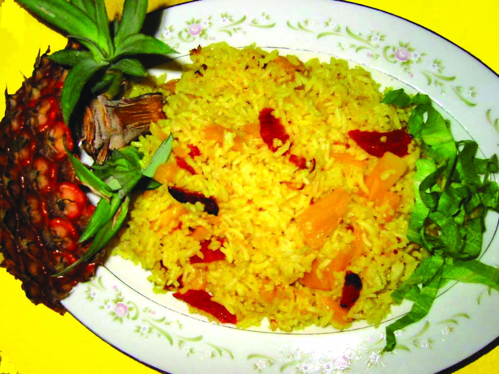 Pineapple_Rice